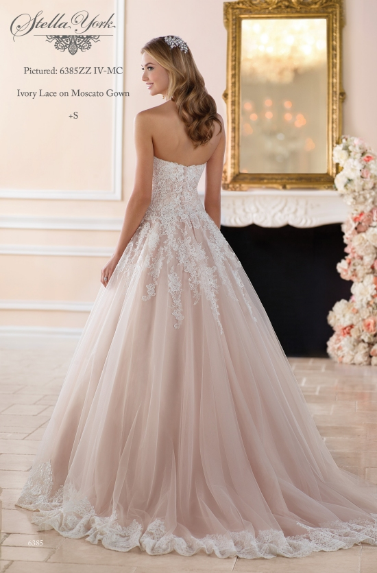 gowns stella york 6385 B